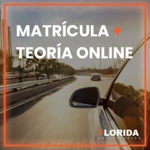 matricula y teoria online autoescuela
